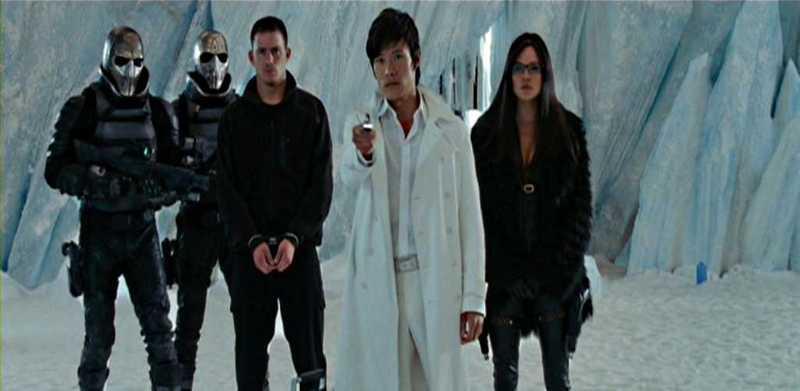 G.I. Joe The Rise of Cobra TRGV9 Byung-hun Lee Sienna Miller Channing Tatum